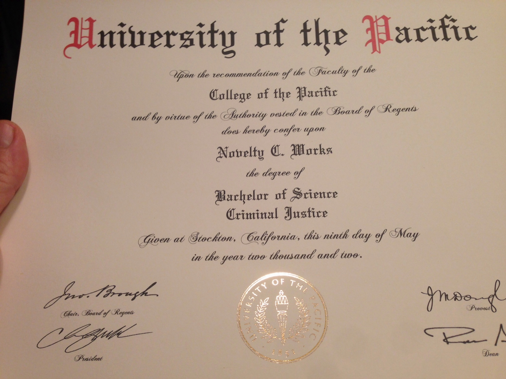do fake diplomas work